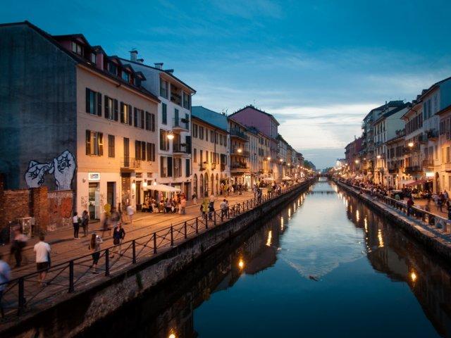 Remessas internacionais para Milão