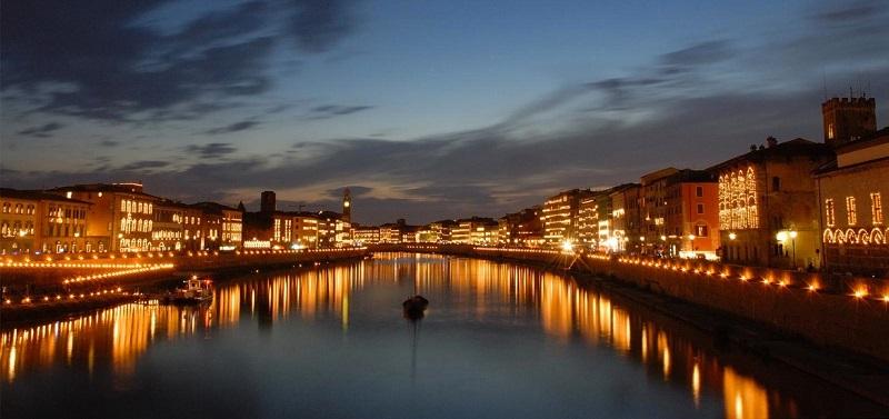 Remessas internacionais para Pisa