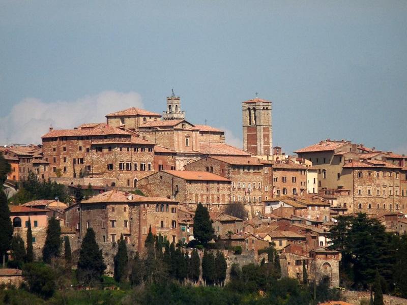 Vista da cidade de Cortona