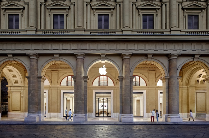 Loja da Apple na Piazza della Repubblica