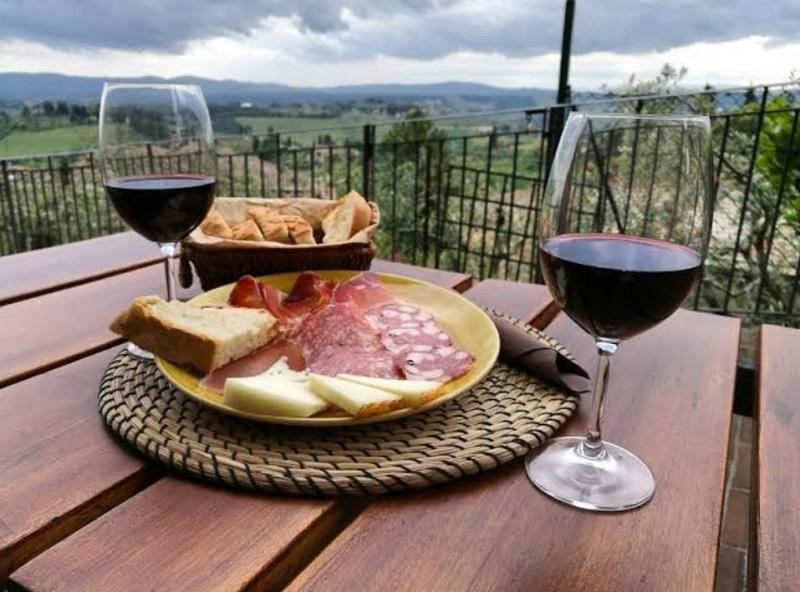 Divinorum Wine Bar em San Gimignano