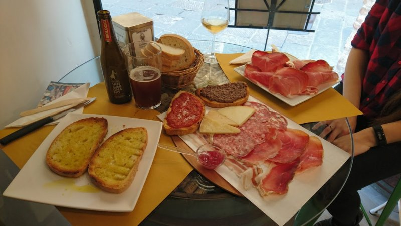 I Macchiaioli Vineria em San Gimignano