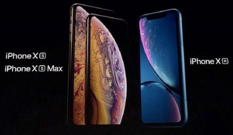 iPhones XR, XS e XS Max