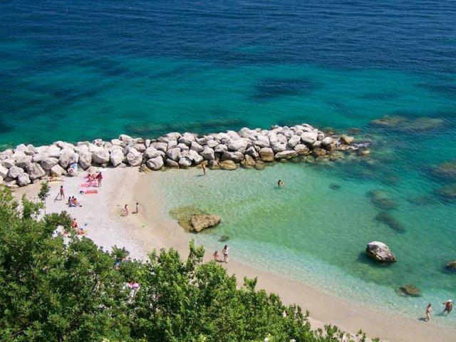 Melhores praias em Capri