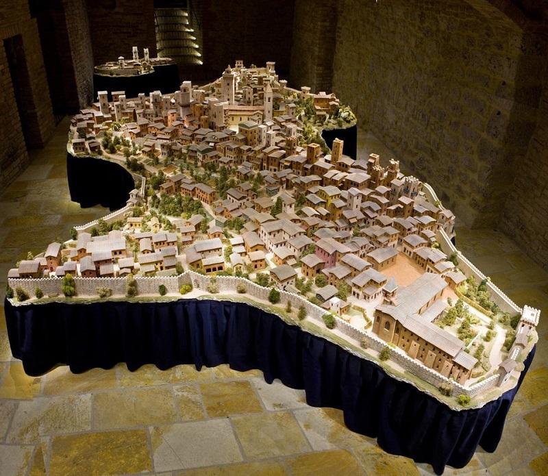 Obra exposta no Museo San Gimignano 1300