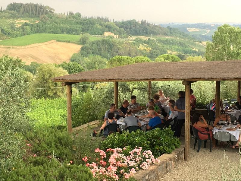Vinícola próxima de San Gimignano