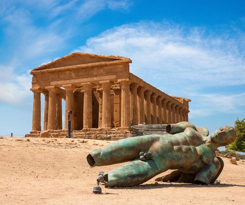 Vale dos Templos em Agrigento