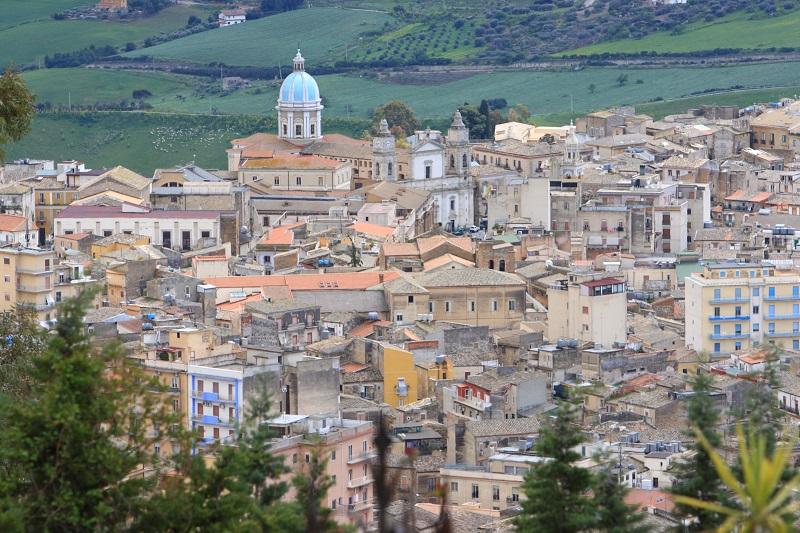 Cidade Caltanissetta de Sicília