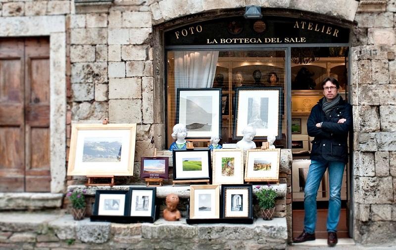 Loja La Bottega del Sale di Duccio Nacci em San Gimignano
