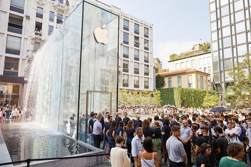Loja da Apple em Milão