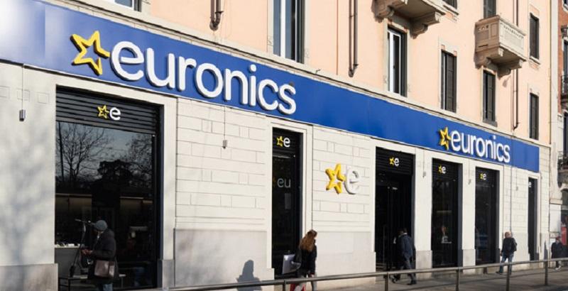Lojas Euronics em Milão