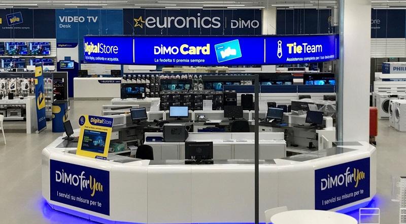 Interior da loja Euronics