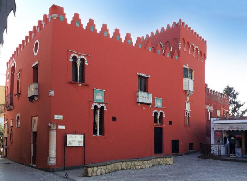 Museu Casa Rossa em Capri