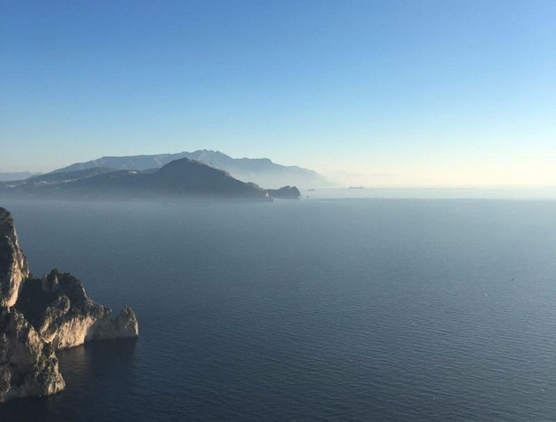 Outono em Capri