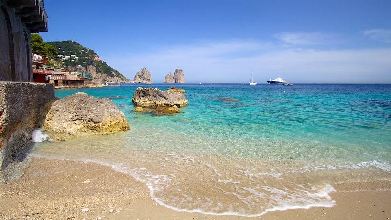Praia Marina Picoola em Capri