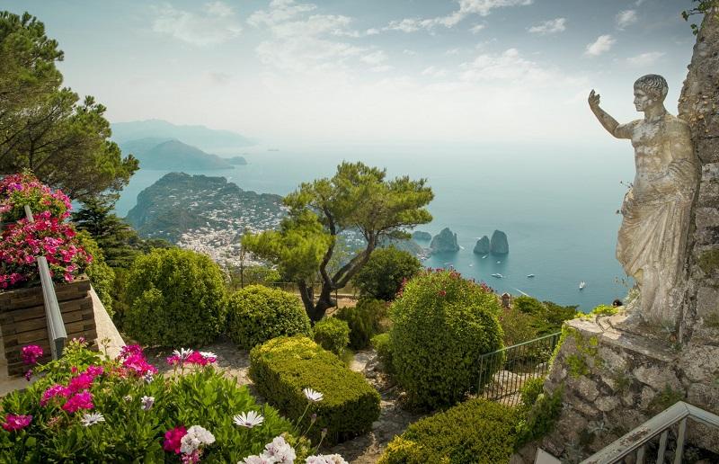 Primavera em Capri