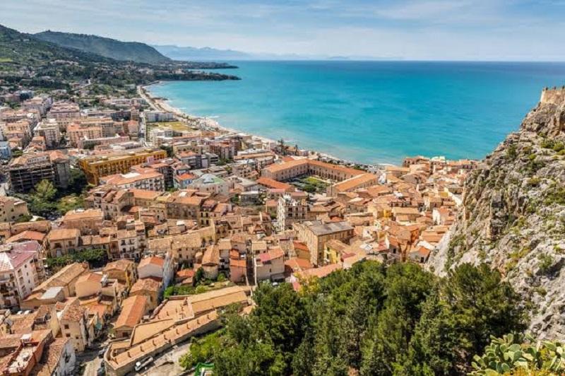 Mapa turístico de Sicília