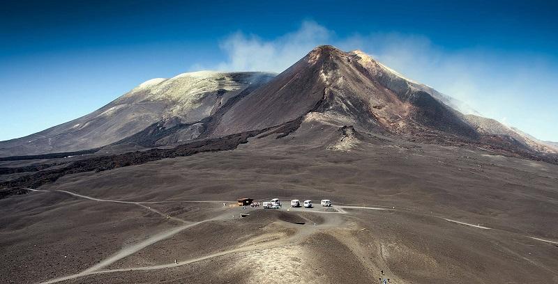 Vulcão Etna em Catania